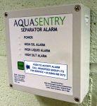 Oil Warning Alarm is installed